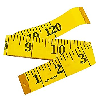 Mandalahuang 120-Inch Extra Long Soft Tape Measure for Sewing Tailor Cloth Ruler