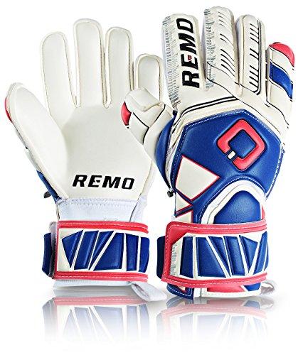 REMO Sports Guarda Fingersave Latex Torwarthandschuhe (blau, 8)