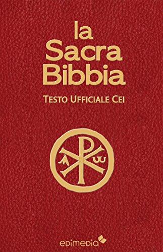 La Sacra Bibbia CEI (Italian Edition)