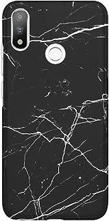 Kılıfland Casper Via A3 Kılıf Silikon Desenli Resimli Lüx Kapak Kapak Siyah Koyu Mermer -Stok 1299