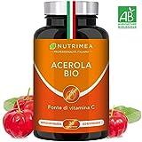 VITAMINA C 1000 mg Bio con ACEROLA Naturale e Biologica Con...