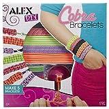 Alex DIY Wear Cobra Bracelets Kids Art and Craft Activity