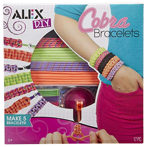Alex DIY Wear Cobra Bracelets Kids Art and Craft Activity