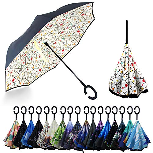 YOKITOMO 長傘 レディース 逆さ傘