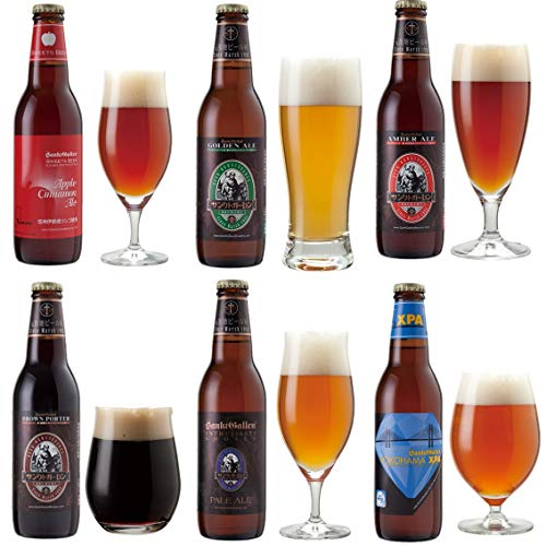 <冬限定 アップルシナモンエール 入> サンクトガーレン クラフトビール 6種6本 飲み比べセット