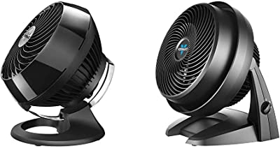 Vornado 460 Small Whole Room Air Circulator Fan with 3 Speeds, Black & 630 Mid-Size Whole Room Air Circulator Fan