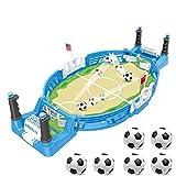 JDYDDSK Mini Tablero de fútbol Arcade Game Game Game Finger Battle Athletic Soccer Juego Power Thot Football Skills Suelo Board Juego para niños Adultos Mesa de fútbol,6 balles,L