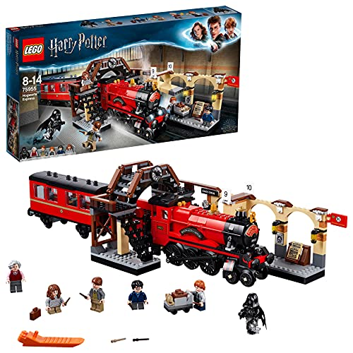 LEGO75955HarryPotterExpresodeHogwartsyAndén9y3/4JuguetedeConstruccióndelTrenyEstacióncon5MiniFiguras