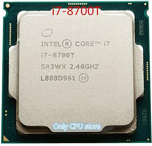 Procesador de CPU i7-8700T i7 8700T 2,4 GHz de Seis núcleos de 12 Hilos 12M 35W LGA 1151