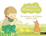 Tout-petit Montessori - Cartes classifiées des animaux de la ferme et leurs petits - dès 15 mois