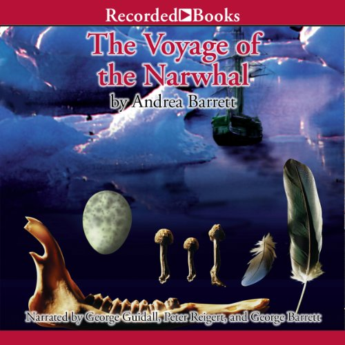 The Voyage of the Narwhal audiobook cover art