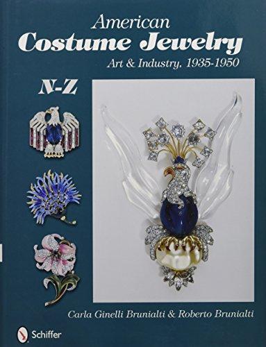 American Costume Jewelry: Art & Industry, 1935-1950, N-Z