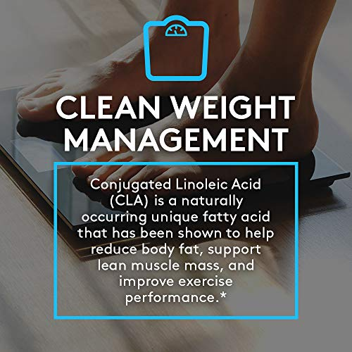 RSP CLA 1000 Conjugated Linoleic Acid Max Strength Softgels, Natural Stimulant Free Weight Loss Supplement, Fat Burner for Men & Women, 180 Ct. (Packaging May Vary) 6