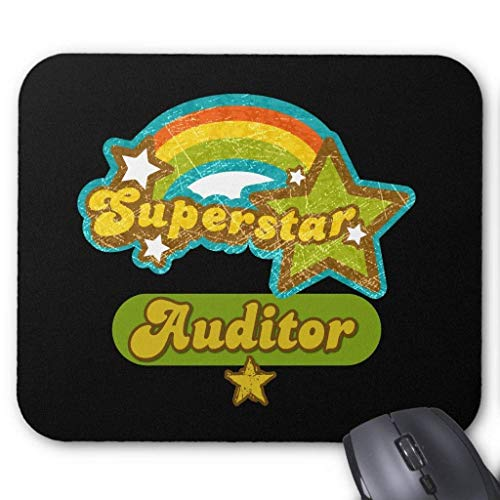 Superstar Auditor Mouse Pad 18×22 cm