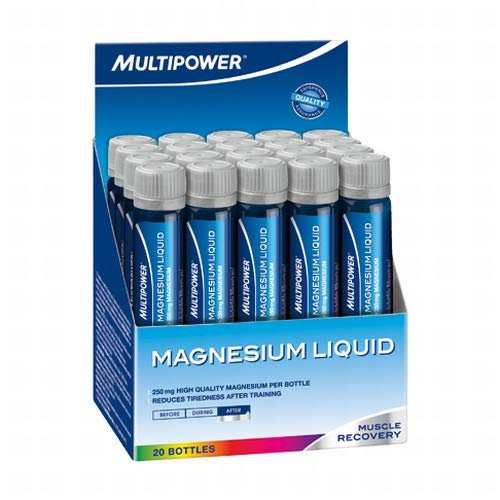 Multipower Magnesium Liquid 2 x 20 Ampullen 2er Pack a 20ml