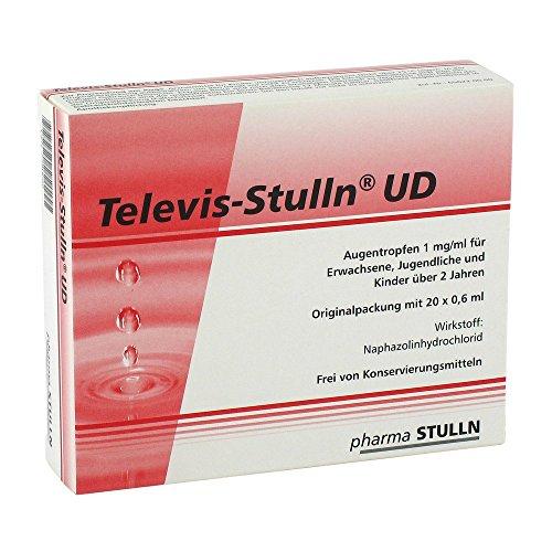 TELEVIS Stulln UD Augentropfen 20X0.6 ml