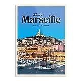 Générique Marseille – beeindruckende Poster für die