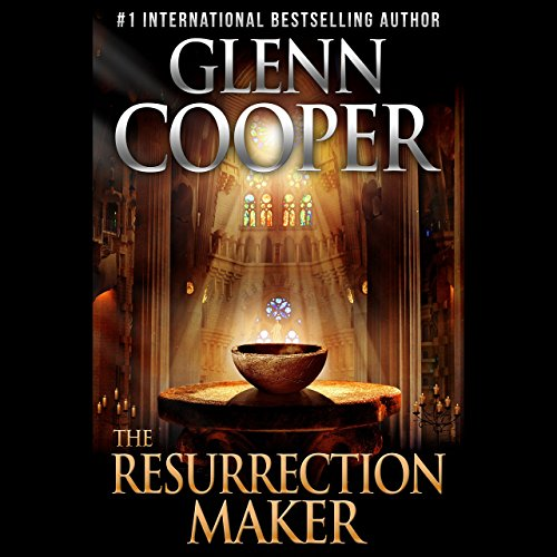 The Resurrection Maker audiobook cover art