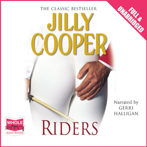 Riders audiobook cover art
