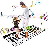 PIANO MAT para niños, teclado MAT SLAY PIANO MAT PIANO DEMOS MUSICALES EDUCATIVA MUSICAL CON REPRODUCCIÓN DE PLAYA Y MODOS DEMO 8 Instrumentos musicales diferentes Opciones de sonido 24 llaves piano i