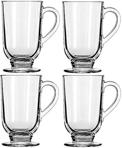 Libbey Kansas City Mall 10.5-ounce Irish SEAL limited product Coffee 4-piece Set Mug