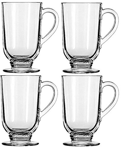 Libbey 10.5-ounce Irish Coffee Mug, 4-piece Set