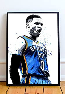Russell Westbrook Limited Poster Artwork - Professional Wall Art Merchandise (More Sizes Available) (8x10)
