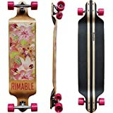 RIMABLE Canadian Maple Drop Deck Longboard