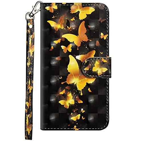 Dclbo Hülle für Nokia 2.2 2019, Handyhülle Tasche Schutzhülle Leder Brieftasche Hülle Lederhülle Magnetverschluss Bunt Handy Hülle Flip Klapphülle Handytasche für Nokia 2.2 2019-3 Muster