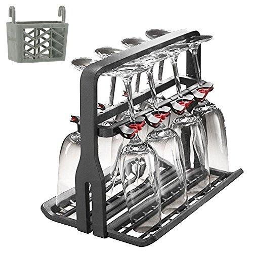 AEG auténtica Universal apto para lavavajillas + para copa de vino cesta de Tablet (8 copas para vino de)