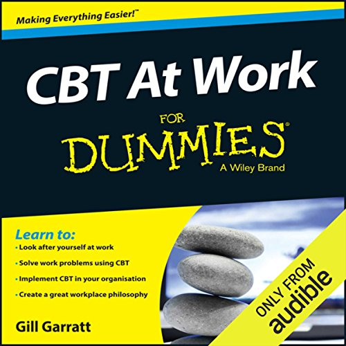 CBT at Work for Dummies audiobook cover art