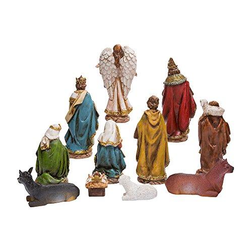 "Kurt Adler 6"" Nativity Set with 11 Figures"