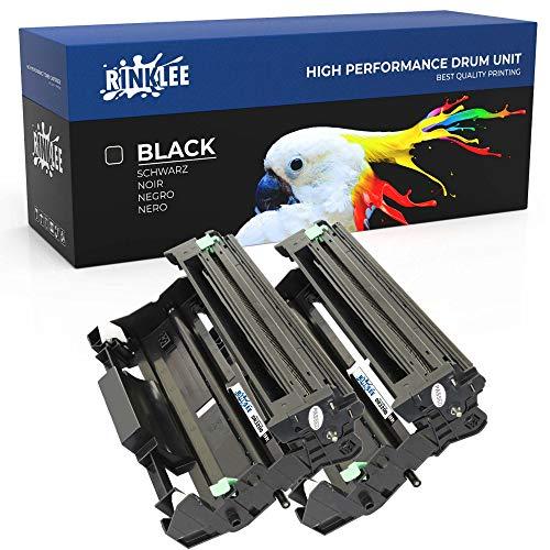 RINKLEE DR3200 Trommel kompatibel für Brother DCP-8070D DCP-8085DN HL-5340D HL-5350DN HL-5350DNLT HL-5370DW HL-5380DN MFC-8370DN MFC- 8380DN MFC-8880DN 8890DW | hohe Reichweite 25000 Seiten | 2er-Pack