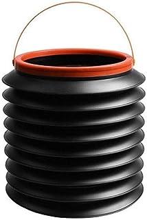 BBGSFDC 4 litres Voiture Poubelle Multifonctions rétractable Voiture Boîte de Rangement extérieur Pêche Portable Seau d'ea...