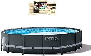 Intex 16ft x 48in Ultra XTR Frame Above Ground Pool w/Pump & Winterizing Kit