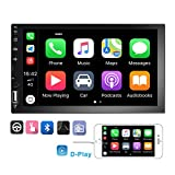 Podofo Double Din Car Stereo Car Radio with buletooth 7'' HD Touchscreen Car...