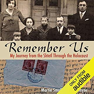 Remember Us audiobook cover art