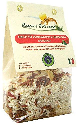 Risotto Pomodoro e Basilico 250g BIO senza glutine
