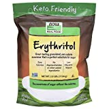 NOW Foods, Erythritol, Great-Tasting Substitute for Sugar, Zero Calories, Low Glycemic Impact, 2.5-Pound