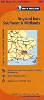 Michelin Map England East, Southeast, & Midlands (Michelin Maps)
