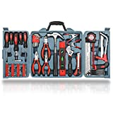 Hi-Spec 71 Piece Home Tool Kit Including Most Reached for Hand Tools