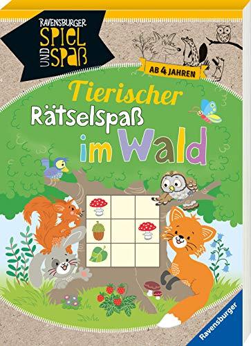 Tierischer Rätsel-Spaß im Wald ab 4 Jahren (Ravensburger Spiel und Spaß)