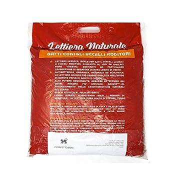Purrfetto Litière pour Chat Pellet - Biodégradable 100% WC - Légume - Aussi pour Lapin Nain, Oiseaux et rongeurs (10 kg - Lot de 2 Sacs)