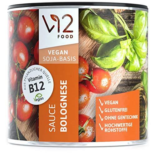 SAUCE BOLOGNESE und KLARE BRÜHE (klein) vegan lagerbar lecker Fertig mix mit Vitamin B12