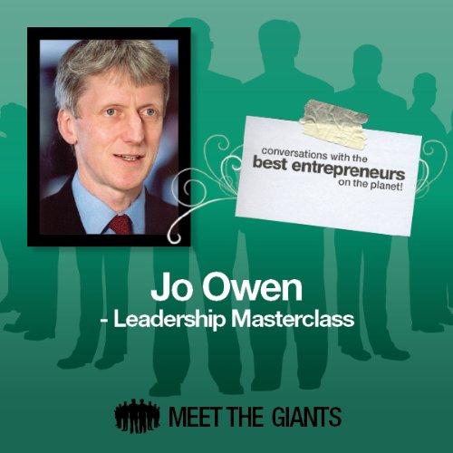 Jo Owen - Leadership Masterclass cover art