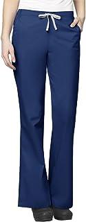 WonderWink Women's Plus-Size Wonderwork Flare Leg Scrub Pant