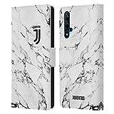 Head Case Designs sous Licence Officielle Juventus Football Club Blanc Marbre Coque en Cuir à...