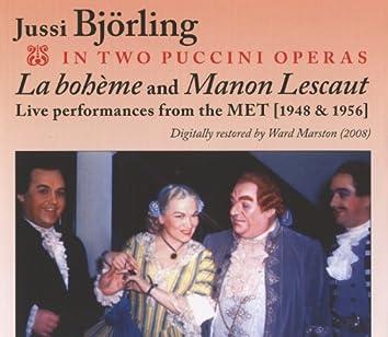 Jussi Bjorling in Two Puccini Operas (1948, 1956)