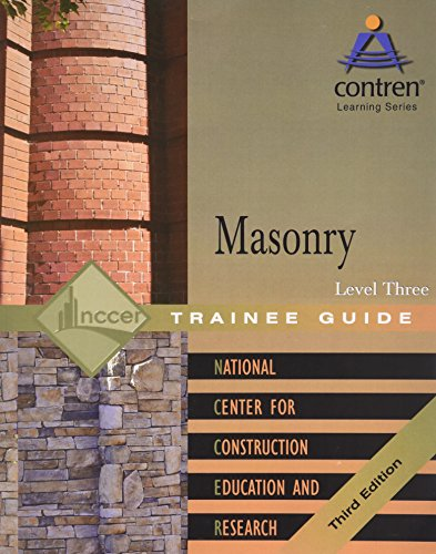 Masonry Level 3 Trainee Guide, Paperback (3rd Edition)