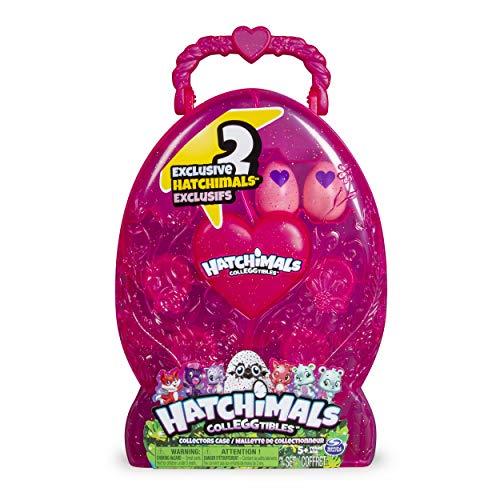 Hatchimals CollEGGtibles Collectors Case with 2 Exclusive Hatchimals CollEGGtibles for Ages 5 and Up